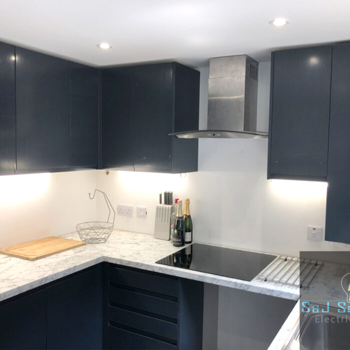 Full rewire with modern kitchen in Crewkerne - S&J Sanders Electrical Ltd Electrician in Yeovil