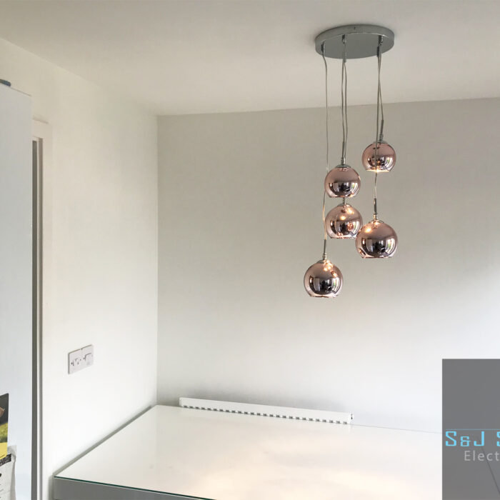 Kitchen feature lighting in Yeovil, Somerset - S&J Sanders Electrical Ltd Electrician in Yeovil